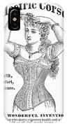 Electric Corset, 1882 IPhone Case