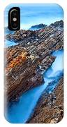 Eternal Tides - The Strange Jagged Rocks And Cliffs Of Montana De Oro State Park In California IPhone Case