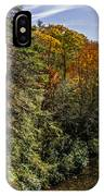 Fall Along The Linville River IPhone Case