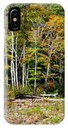 Fall Color River IPhone Case