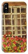 Farm Window IPhone X Case