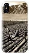 Farm Workers And Mt Williamson 1940s IPhone Case