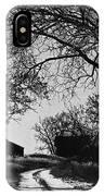 Film Noir Burt Lancaster Robert Siodmak The Killers 1946 Farm House Near Aberdeen Sd 1965 IPhone Case