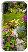 Flower Garden IPhone Case
