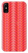 Flower Petal Petal Art From Cherryhill Nj America Micro Patterns Red Color Tones Light Shades IPhone Case