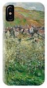 Flowering Plum Trees IPhone Case