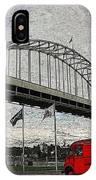 Fremont Bridge IPhone Case