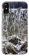 Frozen Reeds IPhone Case