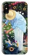Gardener's Eden IPhone Case