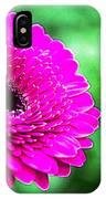 10188 Purple Gerbera IPhone Case