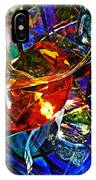 Glass Abstract 691 IPhone Case