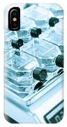 Glass Bottles In Lab IPhone Case