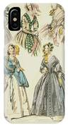 Godey's Lady's Book, 1842 IPhone Case