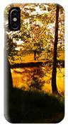 Golden Pond 3 IPhone Case