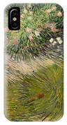Grass And Butterflies IPhone Case