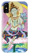 Green Tara 13 IPhone Case
