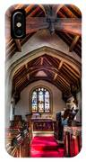 Greensted Church Ongar IPhone Case