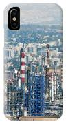 Haifa Petrochemical Plant IPhone Case