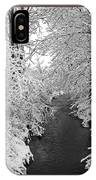Heavy With Snow IPhone Case