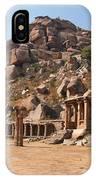 Hindu Ruins At Hampi IPhone Case