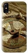 .historical Navigation IPhone Case