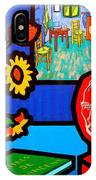 Homage To Vincent Van Gogh IPhone Case