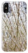 Ice On Branches IPhone X Case