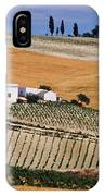 In A Vineyard IPhone Case