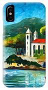 Italy Lake Como Villa Balbianello IPhone Case