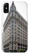 Johnston Building - Nomad Hotel IPhone Case