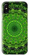 Kaleidoscope Of Glowing Circuit Board IPhone Case