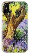 Lavender And Olive Tree IPhone Case