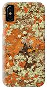 Lichen Abstract IPhone Case