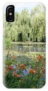 Lily Pond - Monets Garden IPhone Case