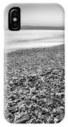 Little Stones At The Silver Sea IPhone Case