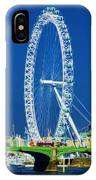 London Eye Westminster Bridge IPhone Case