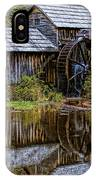 Mabry Mill IPhone Case by Ola Allen
