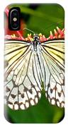 Malabar Tree Nymph Butterfly IPhone Case