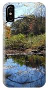 Mansfield Hollow Lake IPhone Case
