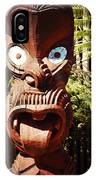 Maori Carving IPhone Case