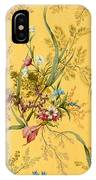 Marble End Paper  IPhone Case