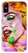 Marilyn Monroe IPhone Case by Eleni Mac Synodinos
