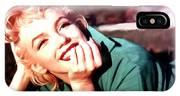Marilyn Monroe Large Size Portrait IPhone Case
