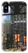 Marina Towers -chicago IPhone Case