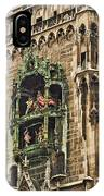 Mechanical Clock In Munich Germany IPhone Case