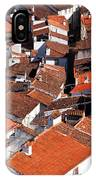 Medieval Town Rooftops IPhone Case