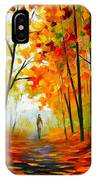 Melody Of Autumn IPhone Case