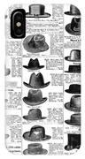 Men's Hats, 1895 IPhone Case