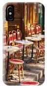 Montmartre Cafe IPhone Case