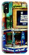 Montreal International Jazz Festival IPhone Case